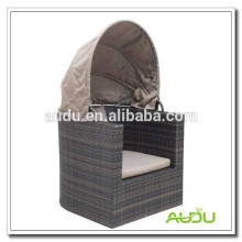 Audu Rattan Outdoor Round Bed On Sale