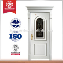 Factory Custom Wooden Building Doors, House Front Fire Door