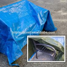 Tejidos de lona HDPE y lámina de plástico HDPE.