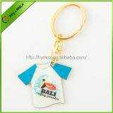 promotional metal T-shirt shaped key chain