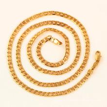 Xuping моды 18K Золото Человек ожерелье