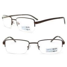 Optical Eyewear Metal Half Frame Glasses Frame (BJ12-160)