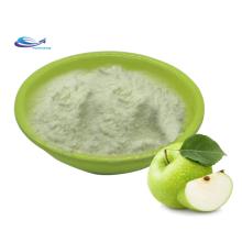 Poudre concentrée de jus de fruit de pomme verte biologique