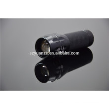 manufacturer led flashlight , zoom flashlight torch, zoom dimmer led flashlight