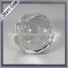 Transparencia de pureza Facetas redondas Bola de cristal cortado
