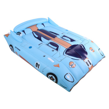 Flotador de piscina de coche de carreras