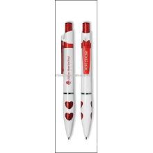 stylo à bille en plastique