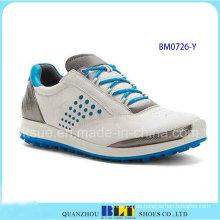Heiße Verkaufs-Mann-Art- und Weisengolf-Schuhe