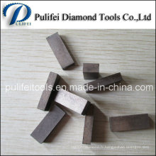 """20 """"segment de coupe de pierre de carrière de dalle de granit de 500mm de dalle"""