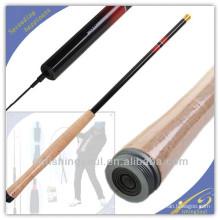 TER001 fiber de verre canne à pêche blanks meilleur vente chaude chinois produit haute tige de carbone tenkara engins de pêche