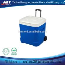 China-Einspritzungskunststoffkühlbox mit Rädern formt Qualitäts-Wahl