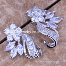 plated silver earrings female favorite earrings indian bollywood earrings jewellery