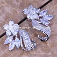 brincos de prata banhados brincos favoritos femininos indiano brincos de bollywood jóias
