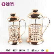 Nouveau produit 2016 Unique Copper French Press Acier inoxydable