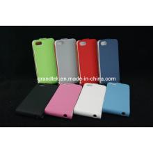 Caso de couro da aleta do telefone móvel para o iphone 5 5s