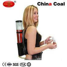 Distributeur de vin de boisson de barre de double de sac à dos avec le refroidissement de tube de glace