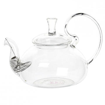 Hot selling attractive for Glass Teapot With Infuser 650ml Mouthblown Elegant Glass Teapot export to Bermuda Suppliers