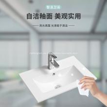 Lavabo sanitario del gabinete de la vanidad del borde fino del cuarto de baño