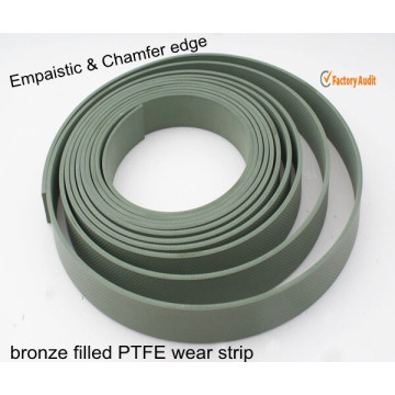 PTFE Sealing Tape with Chamfer and Diamond Shape