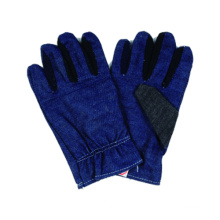 Manos Proteger guante de mezclilla, guante de trabajo de seguridad