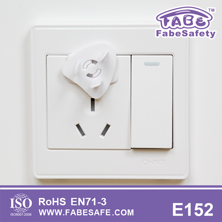 US 2 Pin Baby Safety Outlet Cover