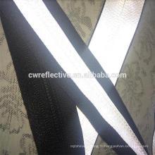 fermeture éclair réfléchissante imperméable en nylon adaptée aux besoins du client pour le tissu