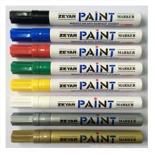 De buena calidad marcador de pintura de barril de aluminio