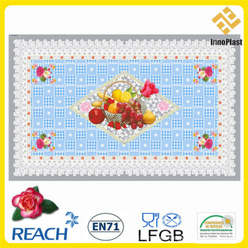 Independent PVC Transparent Tablecloth for Home Using