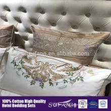 O melhor design de cama de moda sempre em flor pode multi pedaço consolador capa de edredão conjunto de cama