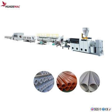 PVC large pipe production line
