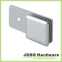Supports en verre pour salle de douche biseauté en laiton (BC301-180)
