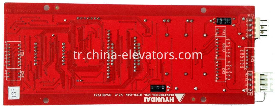 LOP Display HIPD-CAN Hyundai Elevators STVF5 STVF7