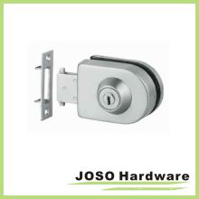Vidro para parede de vidro Fitting Framless Door Furniture Lock (GDL004A)