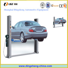 Cheap 2 Post Car Lift Manual and Electric Lock Release for Sale