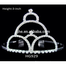 frozen crown high crown wholesale round tiara crown rings crown shaped