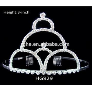 frozen crown high crown wholesale round tiara crown rings crown shaped