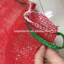 Многоразовые PP трубчатый сетки производим мешки для хранения продуктов питания, фруктов ,овощей