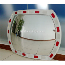 Plastic outdoor round reflective traffic convex mirror