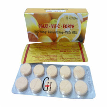 VC & Calcium & VD3 Chewable Tablets