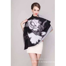 lange Halsketten TS-0001 1 Rosenschal Mode Viskose Schal Schal und Schals Lieferant Alibaba China