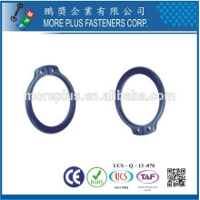 Fabriqué à Taiwan Anneau de retenue en acier au carbone Bague de fixation externe de base DIN471 Circlip