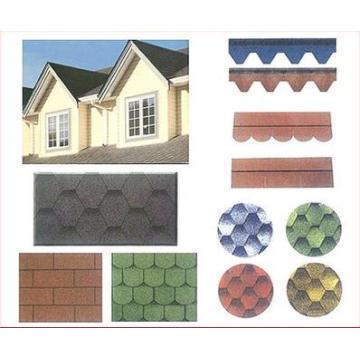 Günstige Asphalt Dachschindel / selbstklebende Dachziegel mit ISO-Zertifikat
