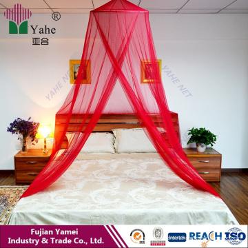 Круглая кровать Козырек с короной или королевой с комаром в Корее для взрослых и детей Домашний текстиль