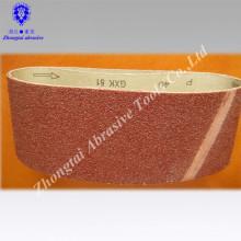 China Importado GXK51 esmeril cinto de lixamento / cinto abrasivo