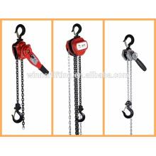 manual de tipo vital de la cadena de la palanca de bloque