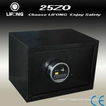 Boîte de sécurité serrure biométrique d'empreintes digitales
