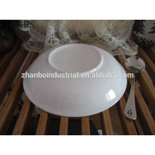 Concise Design , Wave Pattern Durable Porcelain Dinner Set