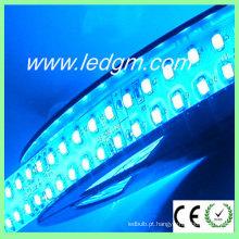 1200LEDs 96W azul fita flexível dupla fileira 3528 LED tira luz