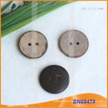 Botões de coco natural para vestuário BN8047
