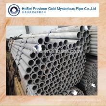 Diferentes tamaños de tubos de acero sin costura redondos